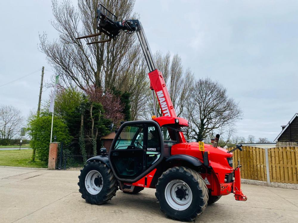 MANITOU MLT 629 TURBO TELEHANDLER * YEAR 2015 , AG-SPEC * C/W PICK UP HITCH
