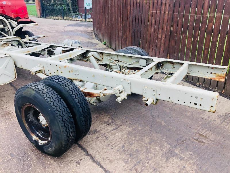 FORD D SERIES LORRY CAB CHASSIS