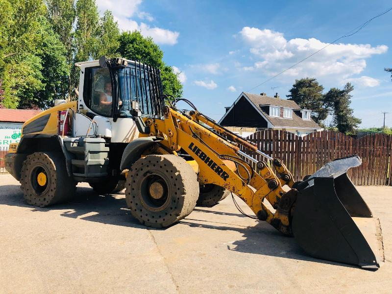 LIEBHERR 542 2PLUS1 LOADING SHOVEL * YEAR 2008 *
