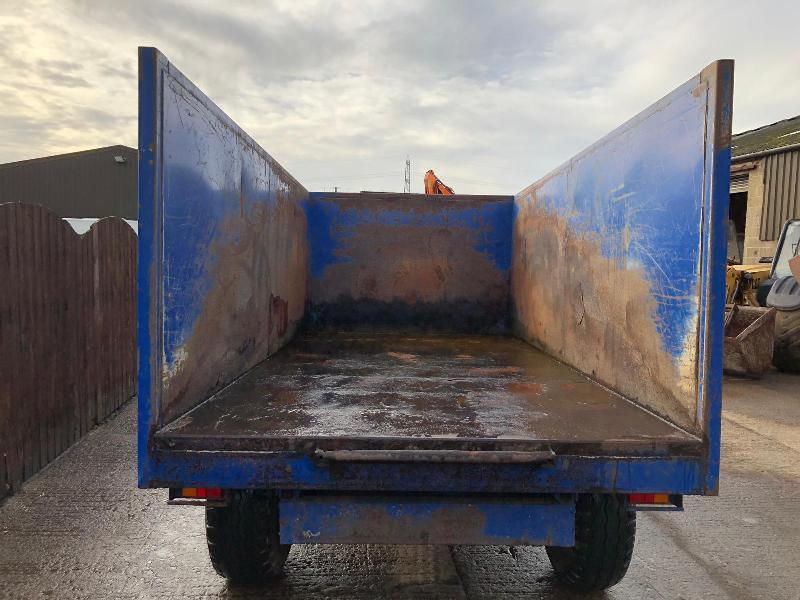 R M CLOUGH TRAILERS TIPPING TRAILER