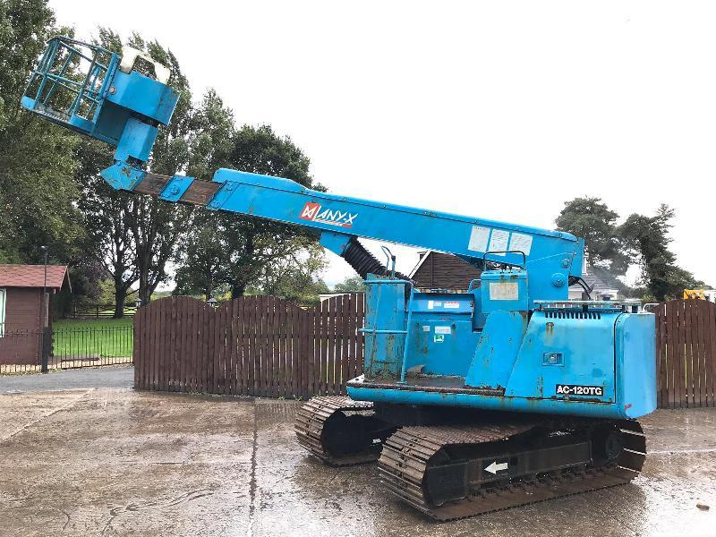 TADANO AC-120 MAN LIFT C/W HITACHI EX60TDN UNDER CARRIAGE