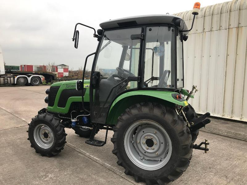 ** BRAND NEW SIROMER 404 4WD TRACTOR WITH SYNCHRO CAB YEAR 2019 **