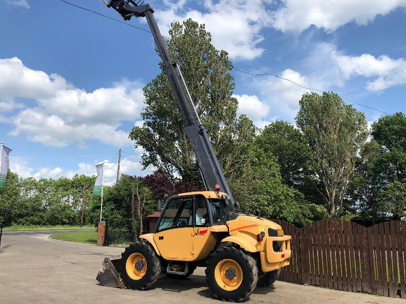 NEW HOLLAND LM640 9 METER TELEHANDLER** ONLY 4020 HOURS ** ( PLEASE SEE VIDEO )