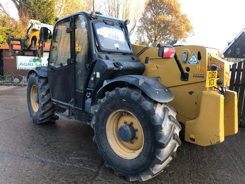 CAT TH407AG TURBO TELEHANDLER ( YEAR 2010 ) * PLEASE SEE VIDEO *