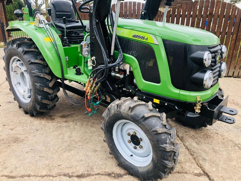 ** BRAND NEW SIROMER 404 4WD TRACTOR WITH LOADER YEAR 2020 *