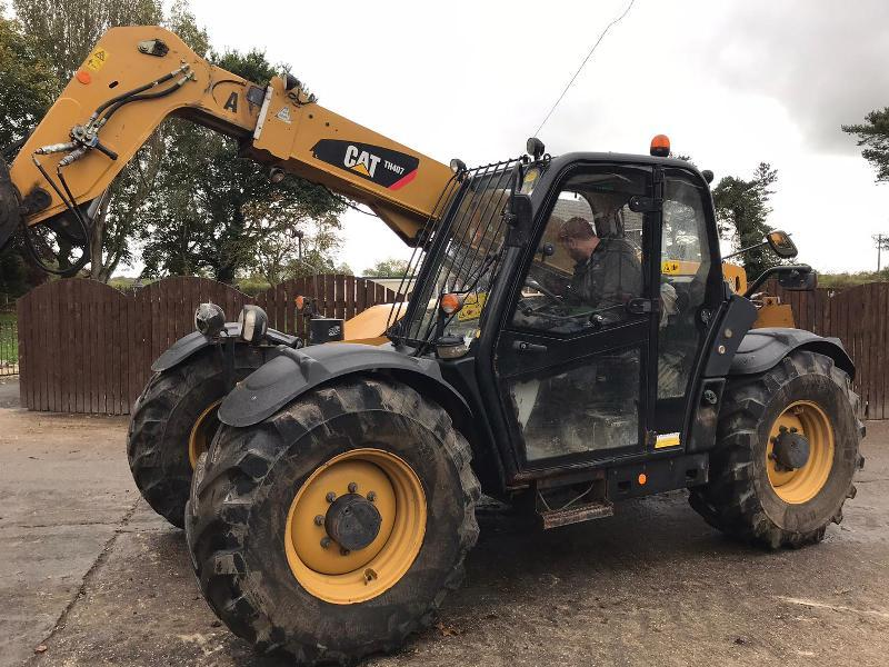 CAT TH407 TELEHANDLER ( YEAR 2011 ) PLEASE SEE VIDEO