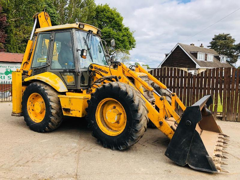 JCB 4CX BACK HOE DIGGER *READING 5518 HOURS* C/W EXTENDING DIG & 4WS *SEE VIDEO*