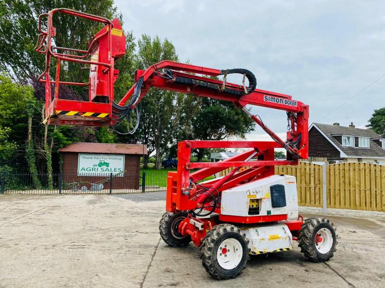 SIMON BOXER - 140 SCISSOR LIFT * PLEASE SEE VIDEO *