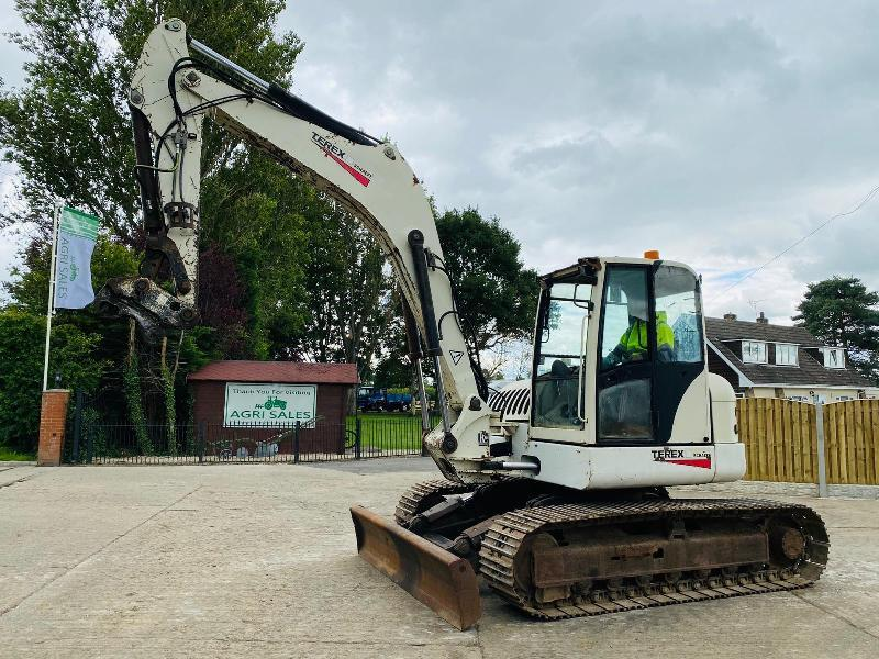 TEREX HR42 TRACKED EXCAVATOR * YEAR 2008 * C/W BLADE & QUICK HITCH