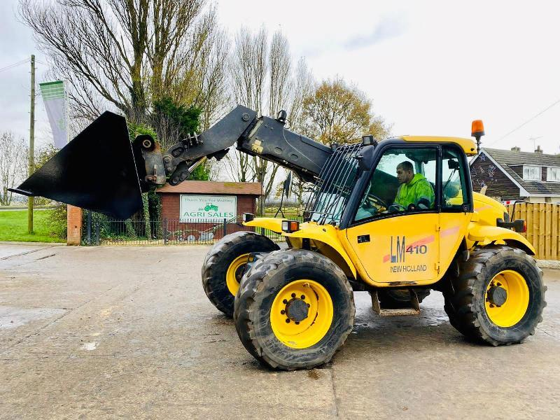 NEWHOLLAND LM410 TELEHANDLER C/W PICK UP HITCH