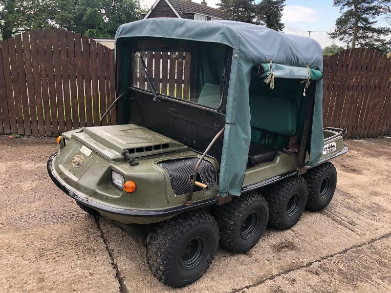 ARGO V894-37 8WD AMPHIBIOUS PETROL BUGGY ( PLEASE SEE VIDEO )