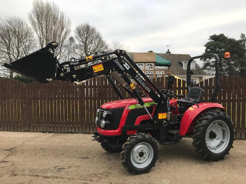 ** BRAND NEW SIROMER RD254 4WD TRACTOR WITH LOADER YEAR 2019 **