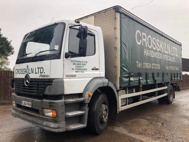 MERCEDES ATEGO 1823 CURTAIN SIDE LORRY
