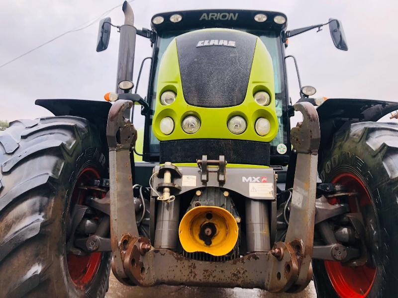 CLAAS ARION 630 4WD TRACTOR *YEAR 2010* C/W FRONT LINKAGE & PTO
