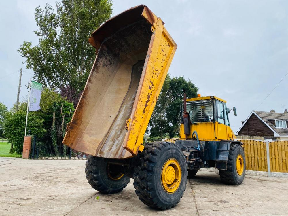 THWAIETES TD18 4X4 ARTICULATED DUMP TRUCK * SEE VIDEO *