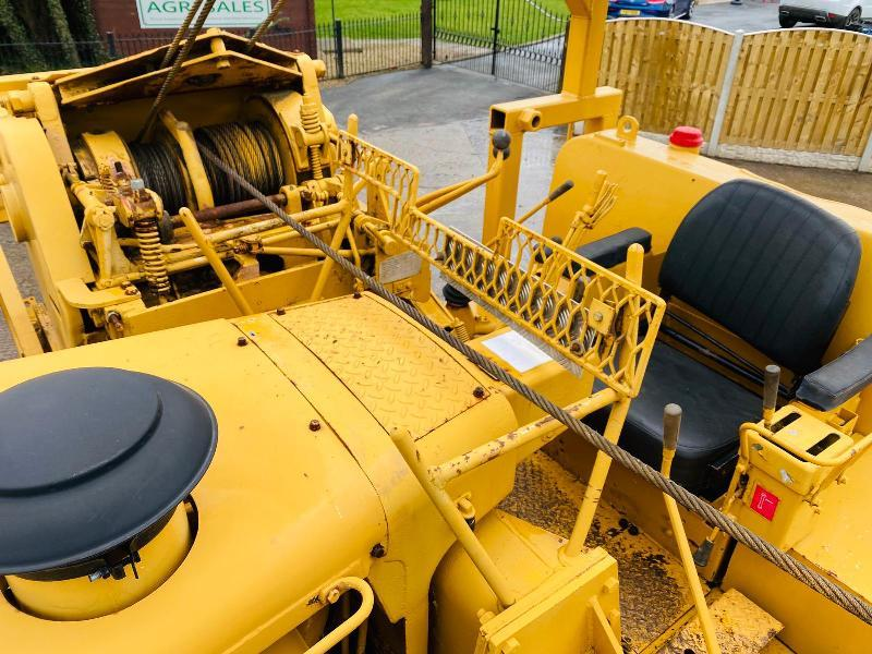 CATERPILLAR 571G DOZER PIPELAYER C/W SIDE BOOM & PIPELAYER