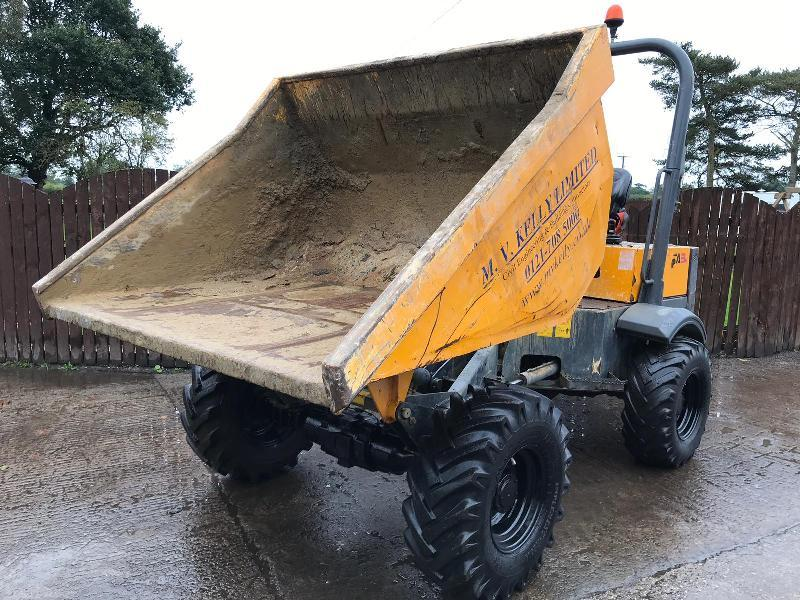 THWAITES TA3H DUMPER ( YEAR 2015 ) ** READING 1399 HOURS **
