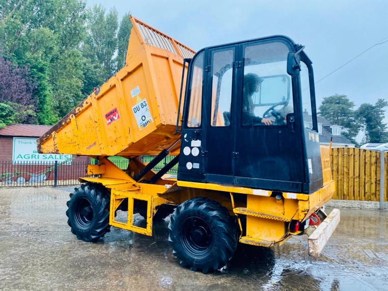 DUMEC DP5000 4WD DUMPER * YEAR 2013 * C/W REVERSIBLE DRIVE STATION * SEE VIDEO *