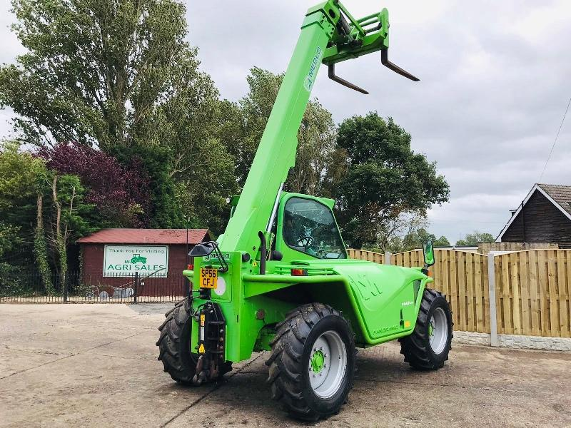 MERLO P34.7 TURBO TELEHANDLER * AG-SPEC * C/W PICK UP HITCH * PLEASE SEE VIDEO *