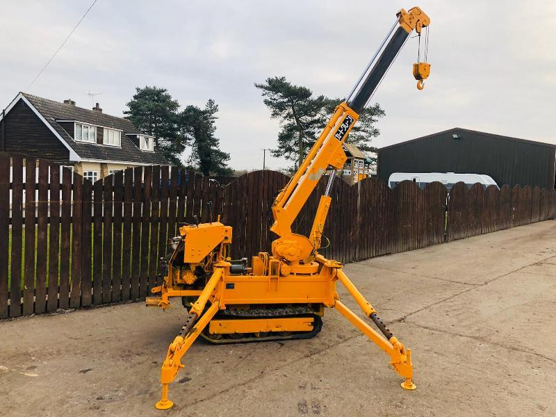 TOA CC154HR TRACKED CRANE C/W DOUBLE PUSH OUT BOOM
