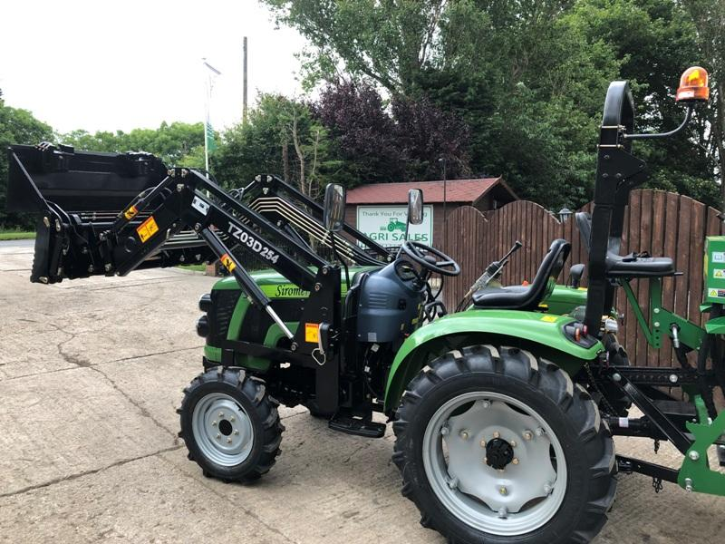 ** BRAND NEW SIROMER 254 4WD TRACTOR WITH LOADER & BACK ACTOR YEAR 2021 **