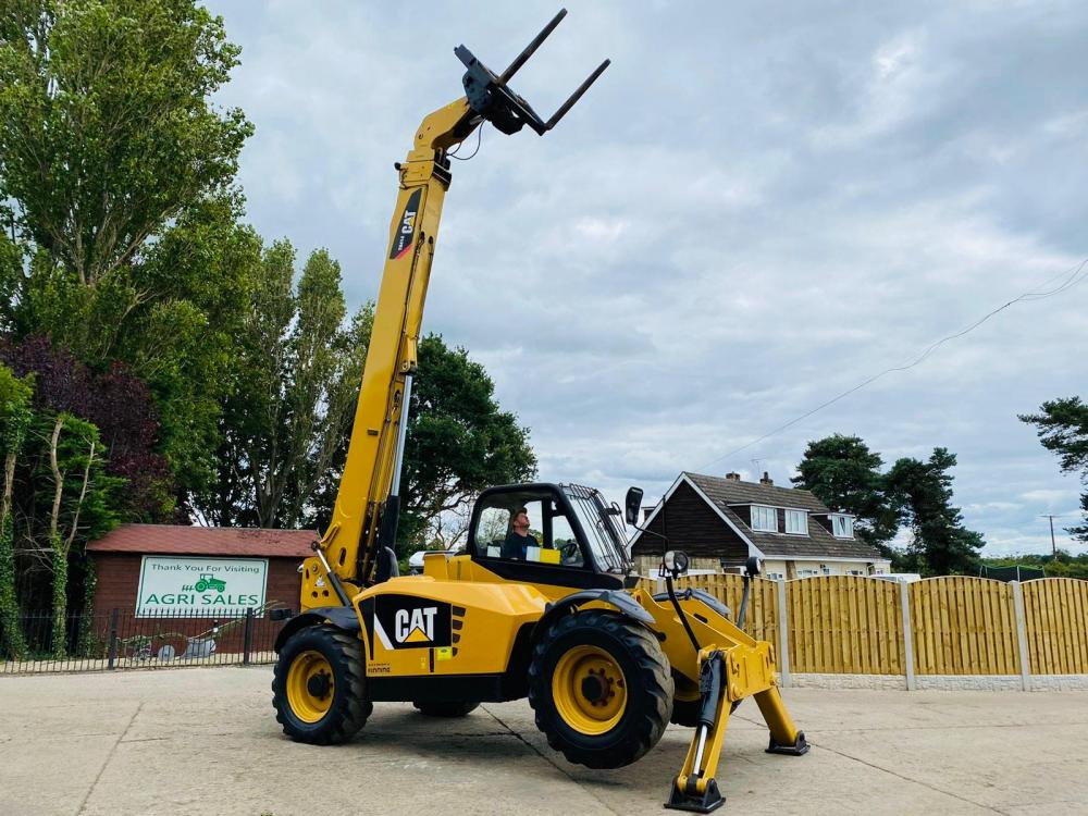 CATERPILLER TH414 TELEHANDLER * YEAR 2012 * ONLY 4471 HOURS