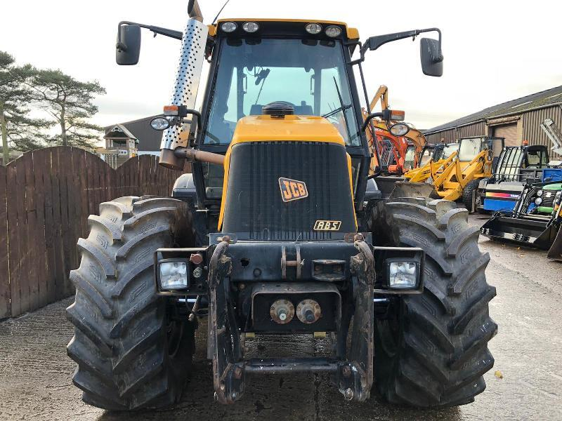 JCB 2140 4WS FASTRAC ( YEAR 2003 ) * FAULTY ENGINE *