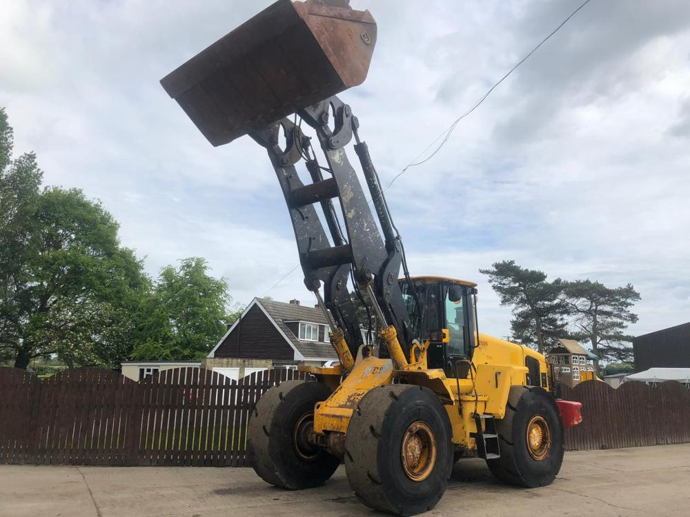 JCB 456Z LOADING SHOVEL CW HIGH LIFT BOOM ( PLEASE SEE VIDEO )