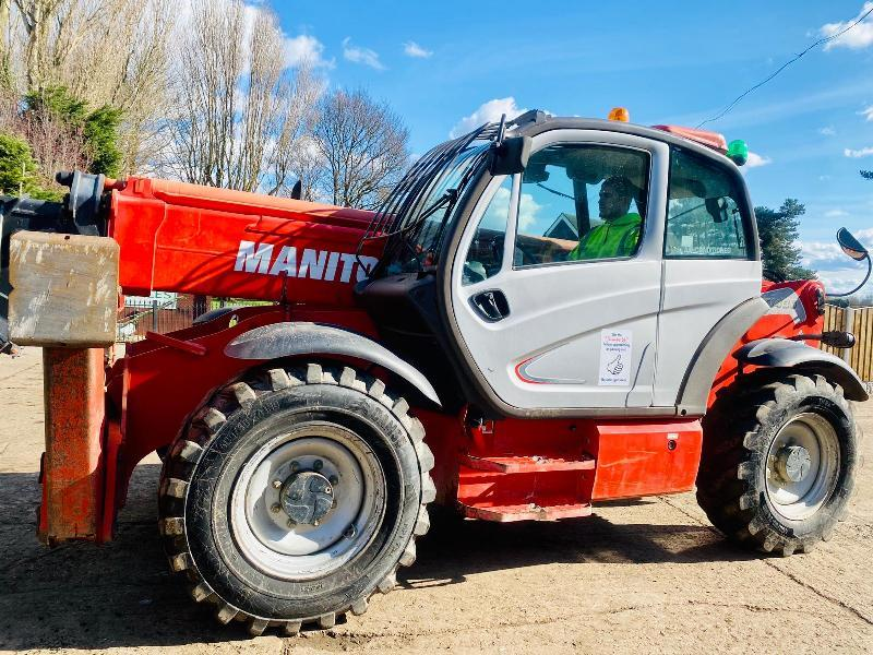 MANITOU MT1436R TURBO TELEHANDLER * YEAR 2010 * C/W PALLET TINES *SEE VIDEO*