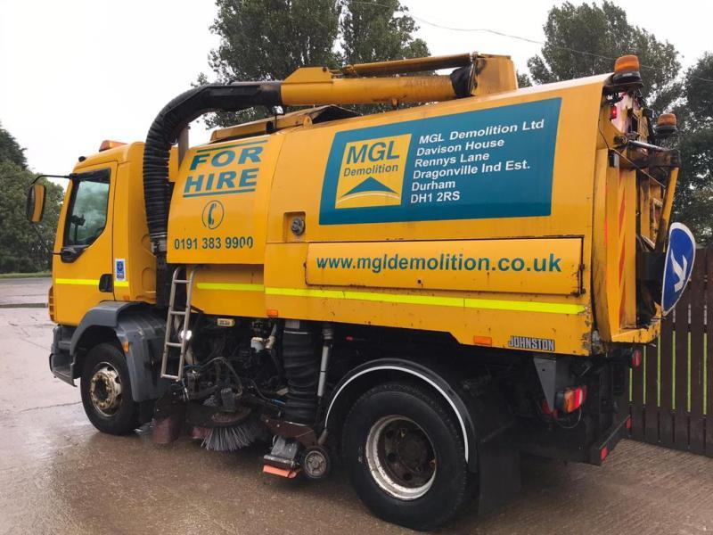 DAF LF 13 TON  JOHNSTON ROAD SWEEPER ( PLEASE SEE VIDEO )