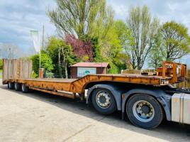 ANDOVER SFSL36 TRI-AXLE LOW LOADER C/W FLIP TOE RAMPS