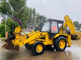 JCB 3CX PROJECT 7 4WD BACKHOE DIGGER C/W PROJECT 8 BACK END & EXTENDING DIG