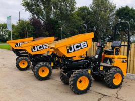 JCB 1THT HIGH TIP DUMP TRUCKS * YEAR 2017 * CHOICE OF THREE *