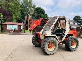 FDI SAMBRON 4WD TELESCOPIC TELEHANDLER C/W PICK UP HITCH