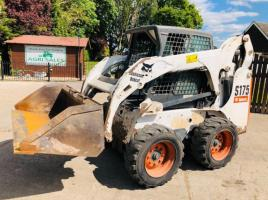 BOBCAT S175 SKIDSTEER * YEAR 2007 * C/W HIGH REACH * PLEASE SEE VIDEO *