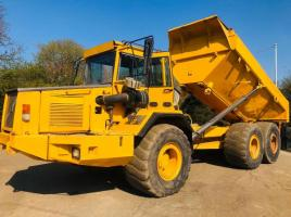 VOLVO A30C 6X6 ARTICULATED DUMP TRUCK C/W REVERSE CAMERA & AC CABIN *SEE VIDEO*