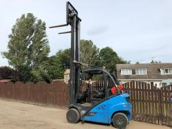 LINDE H20T GAS FORKLIFT ( YEAR 2016 )