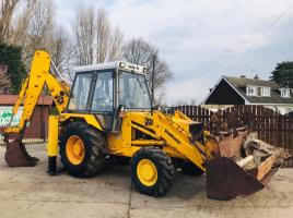 JCB 3CX PROJECT 7 4WD TURBO BACKHOE DIGGER C/W PROJECT 8 BACK END