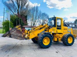 JCB 412S FARM SPECIAL 4WD LOADING SHOVEL C/W TOE TIP BUCKET
