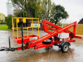 TOWABLE EURO ACCESS MB1032 CHERRY PICKER