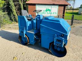 S.I.CO.MM 14BSV DOUBLE DRUM ROLLER C/W LOMBARDNI ENGINE