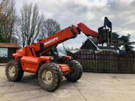 MANITOU MT928-4 TELEHANDLER C/W QUICK HITCH & PALLET TINES *YEAR 1998*