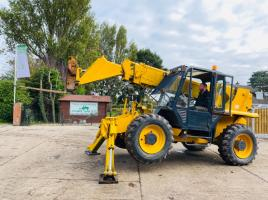JCB 530-120 TELEHANDLER C/W DOUBLE PUSH OUT BOOM & REVERSE CAMERA