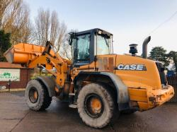 CASE 721D LOADING SHOVEL * READING 5393 HOURS * PLEASE SEE VIDEO *