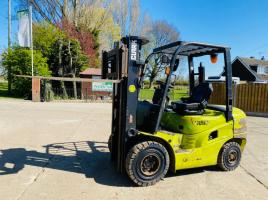 CLARK C25D CONTAINER SPEC DIESEL FORKLIFT * YEAR 2016 * C/W SIDE SHIFT