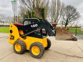 JCB 160 SKIDSTEER * YEAR 2007 , ONLY 3449 HOURS * C/W BUCKET