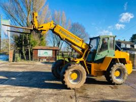SANDERSON TX525 4WD TELEHANDLER C/W PIN AND CONE HEAD STOCK