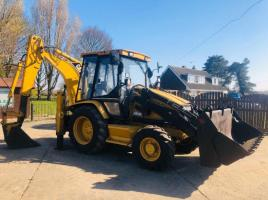 CAT 428C BACK HOE DIGGER C/W 4 IN 1 BUCKET & EXTENDING DIG * ONLY 2208 HOURS *