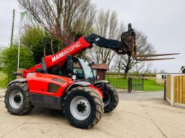 MANITOU 634-120LSU TURBO TELEHANDLER *AG-SPEC , YEAR 2013 ROAD REG
