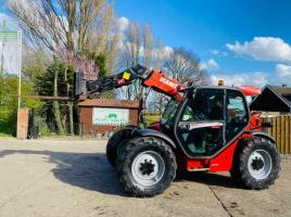 MANITOU 634-120LSU TURBO TELEHANDLER *AG-SPEC , ONLY 2672 HOURS * C/W PICK UP HITCH